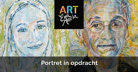 ART Eva Maria portret in opdracht Portre
