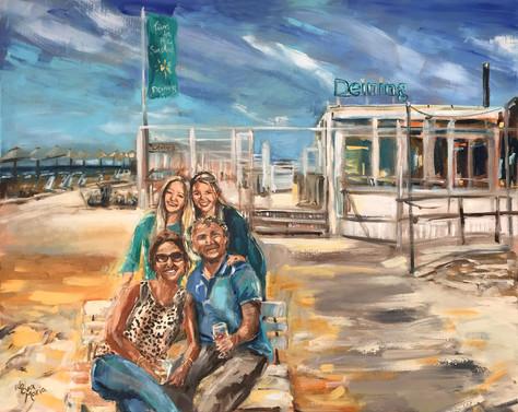 Familie portret   Schilderij van gezin