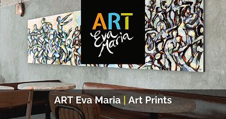 Kunstwerk restaurant Art Prints Sfeer in restaurant