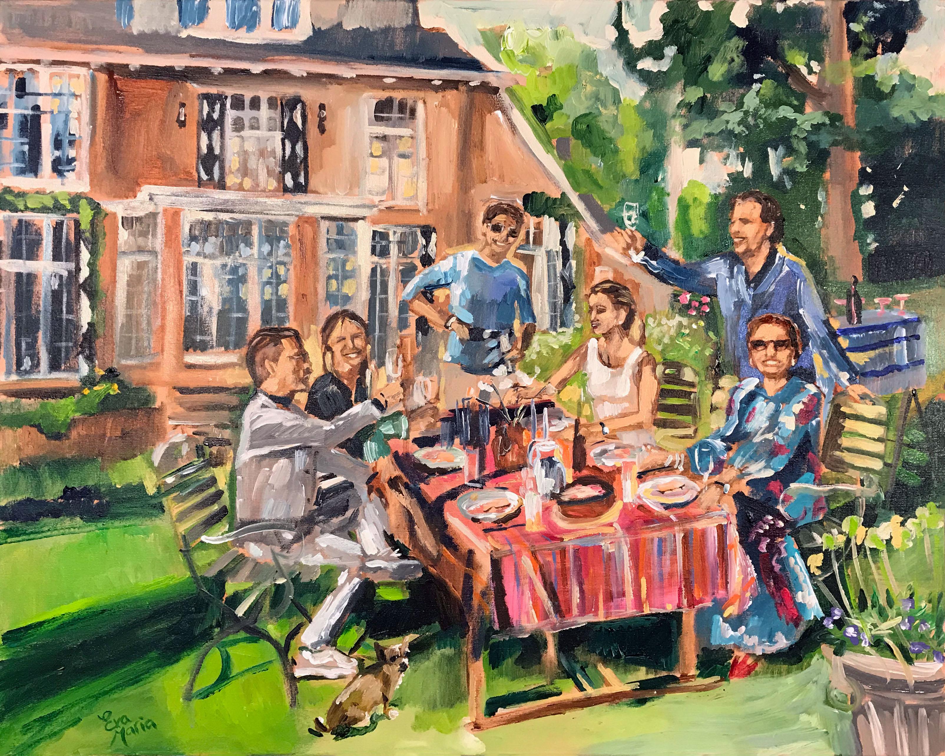 Live Paint Eva Maria Aerdenhout