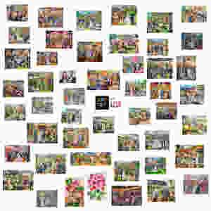 Foto: Live Paints 2018 ... Live-schilderij in 4 uur tijd op je feest of zakelijke evenement! Schilderij op canvas, verschillende maten.