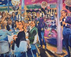 Live Paint Eva Maria Charity Event Hilversum