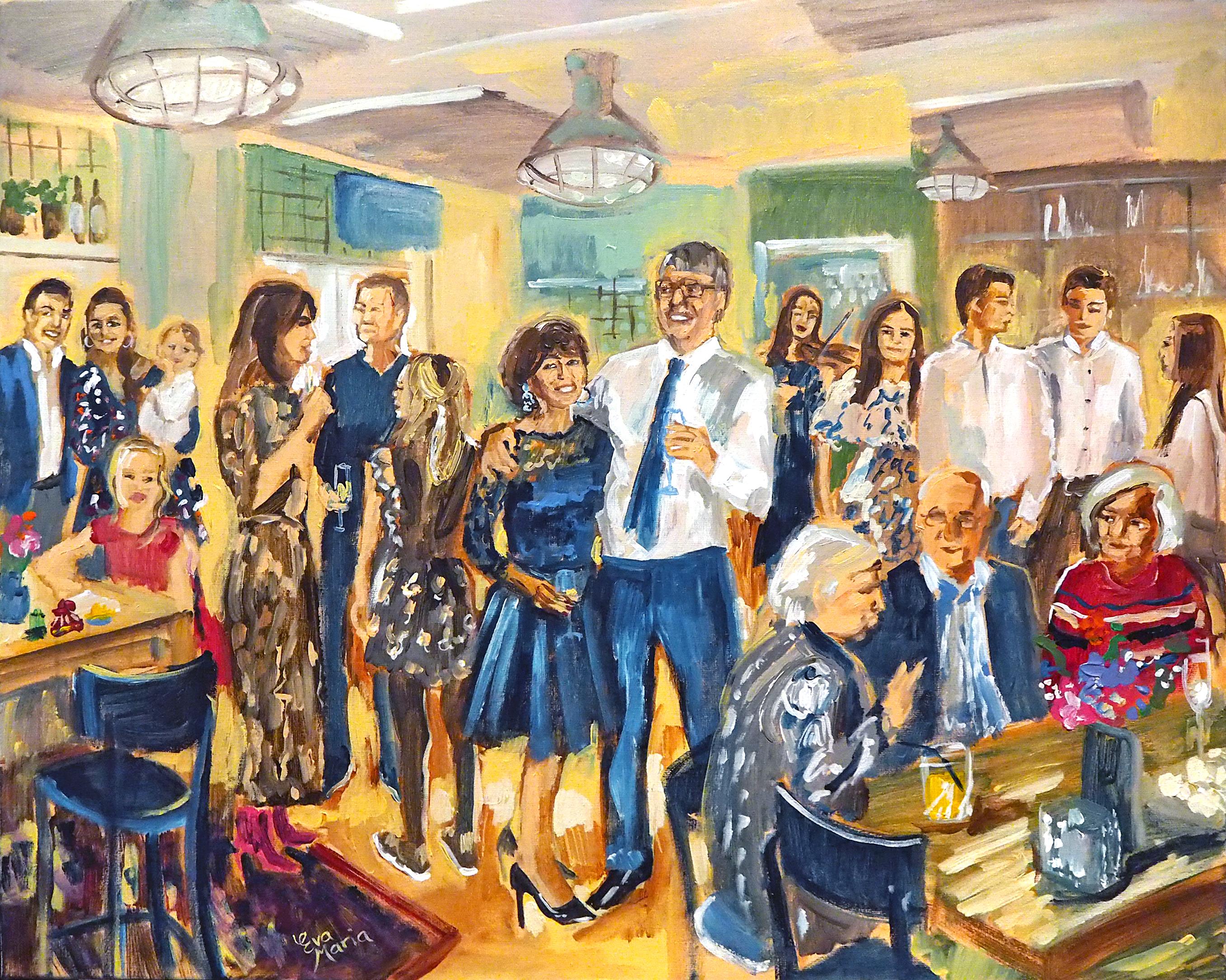 Live Paint Eva Maria Schaijk