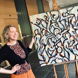Business ART Eva Maria kunswerk Party to