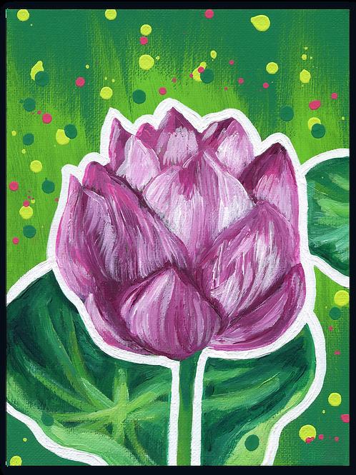 Schilderij Lotus | ArtaFlora | FLOWER POWER collectie