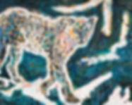 Look a Leopard Eva Maria 80x100 Eva van den Hamsvoort