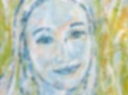 eindresultaat portret Aline 80x100 cm lo