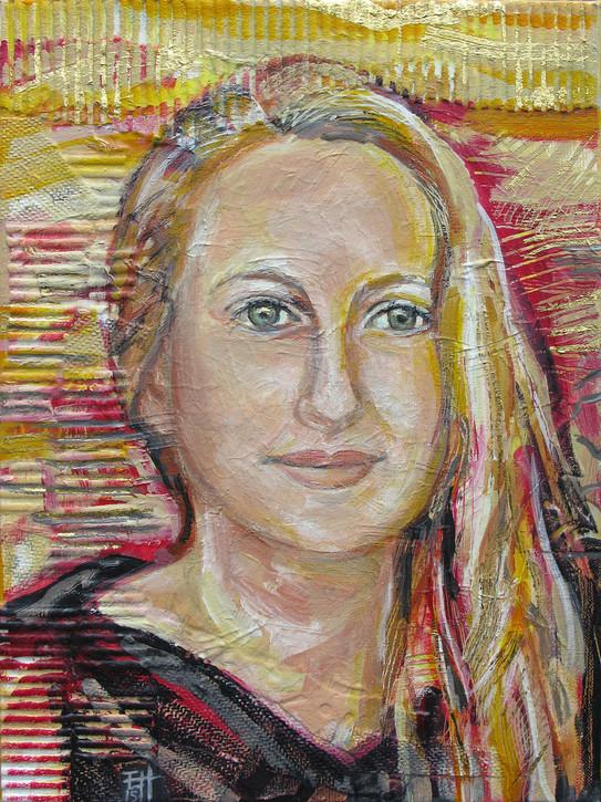 Portret van Anandi