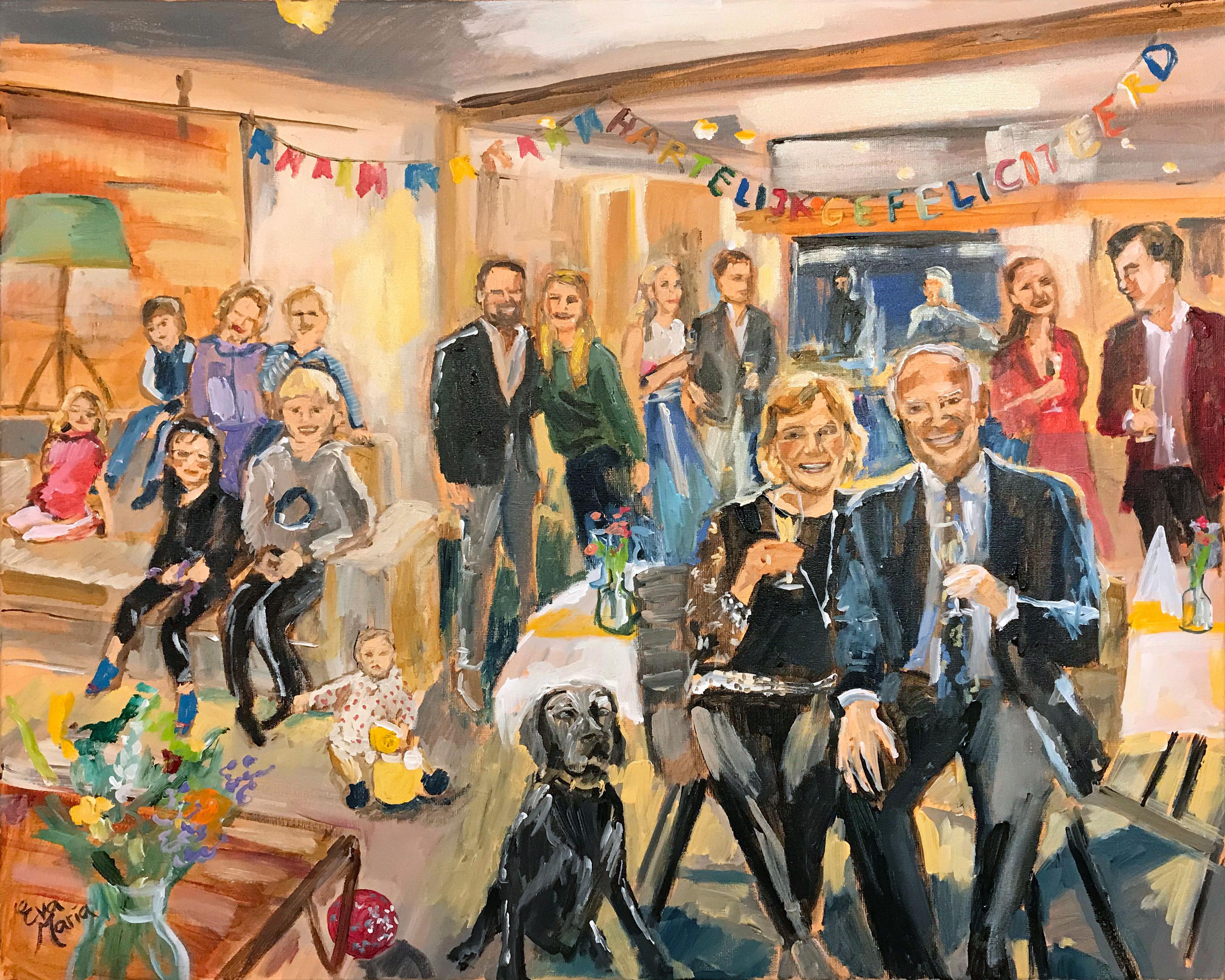 Live Paint Eva Maria Noordwijk