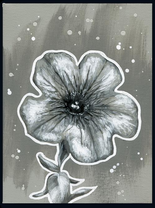 Schilderij Petunia | ArtaFlora | NIGHT & DAY collectie