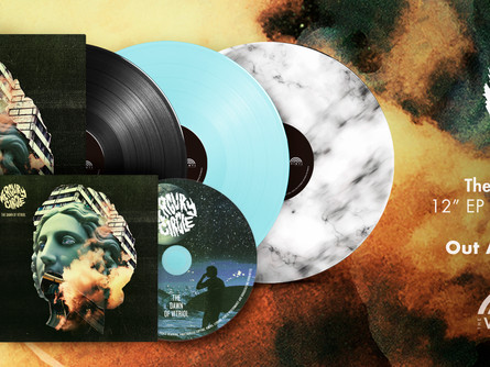 MERCURY CIRCLE - The Dawn Of Vitriol EP, preorder now! Release date August 14th.