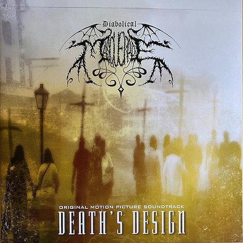 DIABOLICAL MASQUERADE - Death's Design (LP Gold)