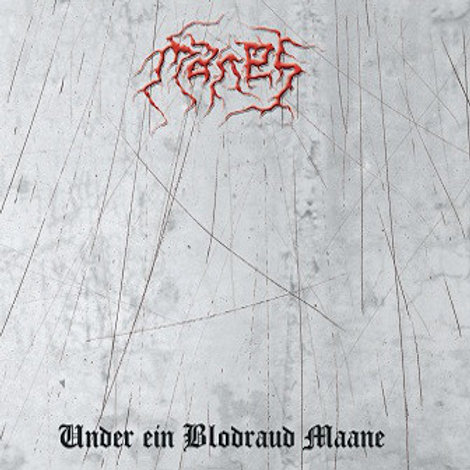 MANES - Under Ein Blodraud Maane (LP Red)