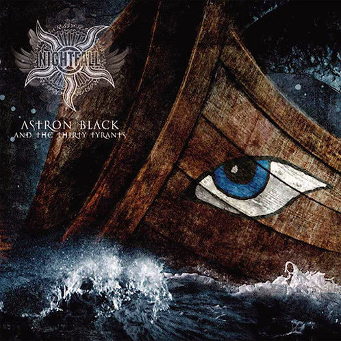 NIGHTFALL - Astron Black And The Thirty Tyrants (LP Blue)