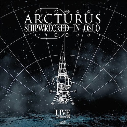ARCTURUS - Shipwrecked In Oslo (2LP Marble Grey)