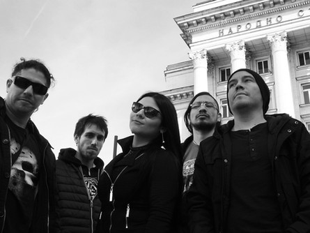 Mourning Sun sign with The Vinyl Division