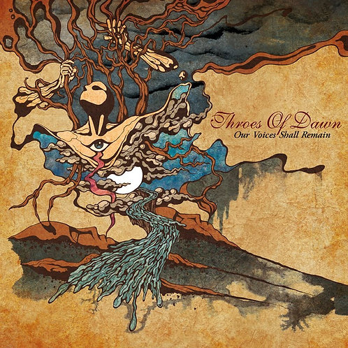 THROES OF DAWN - Our Voices Shall Remain (2LP)