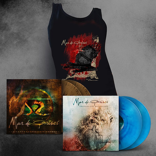 MAR DE GRISES - Vinyl Bundle (Color) + Tank Top