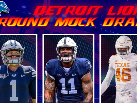 7 Round Mock Draft for the Detroit Lions