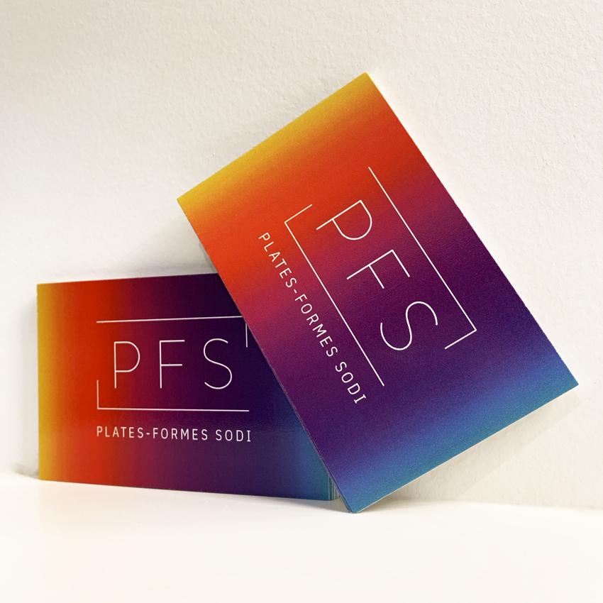 Carte de visite PFS - Management