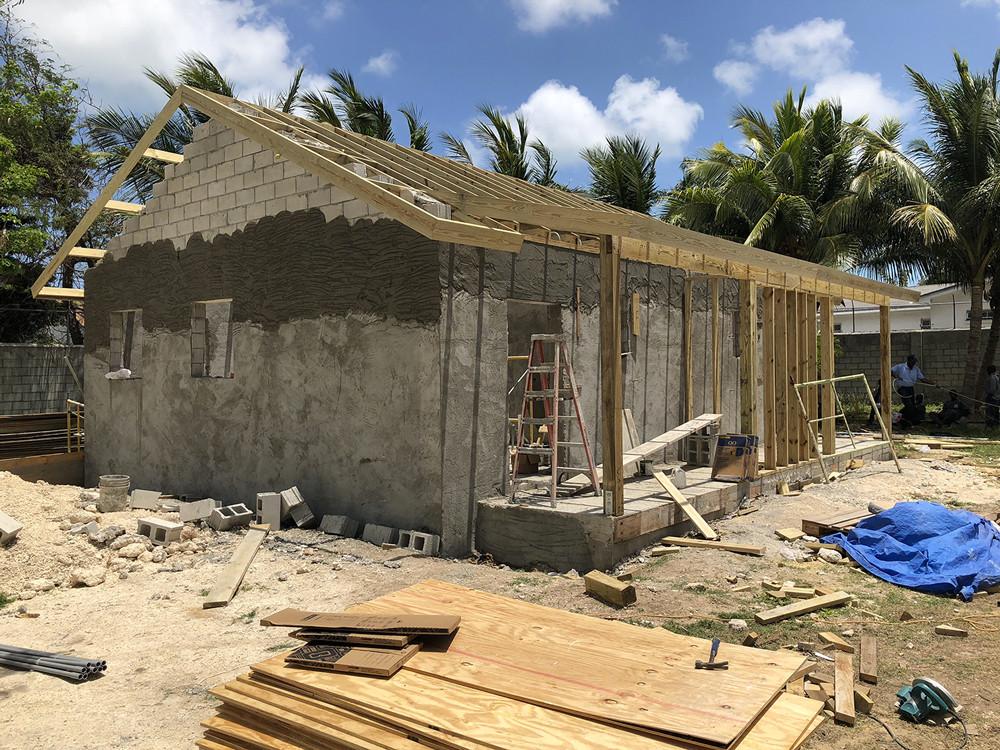 Ranfurly STEP pod construction