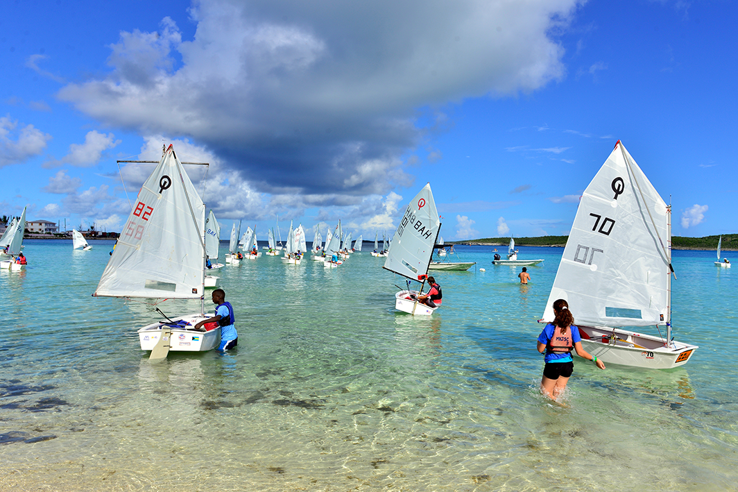 Bahamas National Sailing School -OPTI-NATIONALS-2013