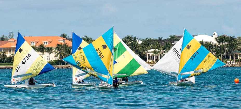 Bahamas National Sailing School -SUNFISH-JR-NATIONALS