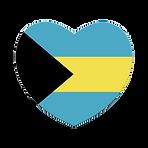 heart flag bahamas