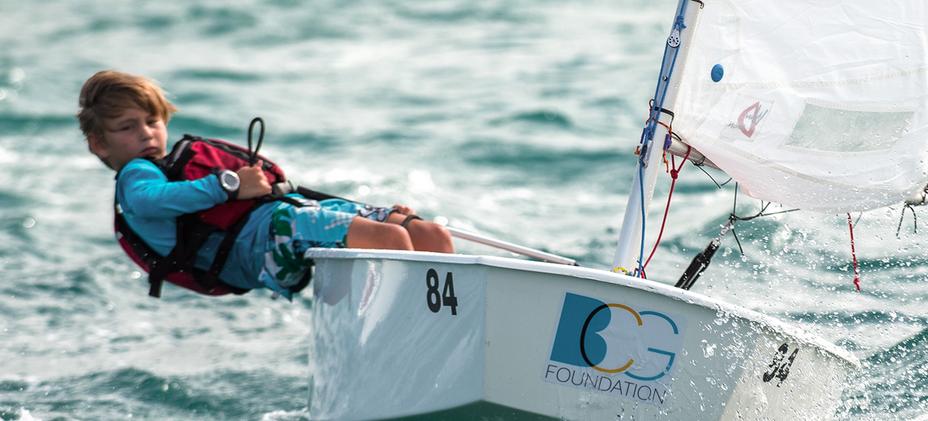 OPTI-Bahamas National Sailing School - LASER-PRACTICE-MAY-2018