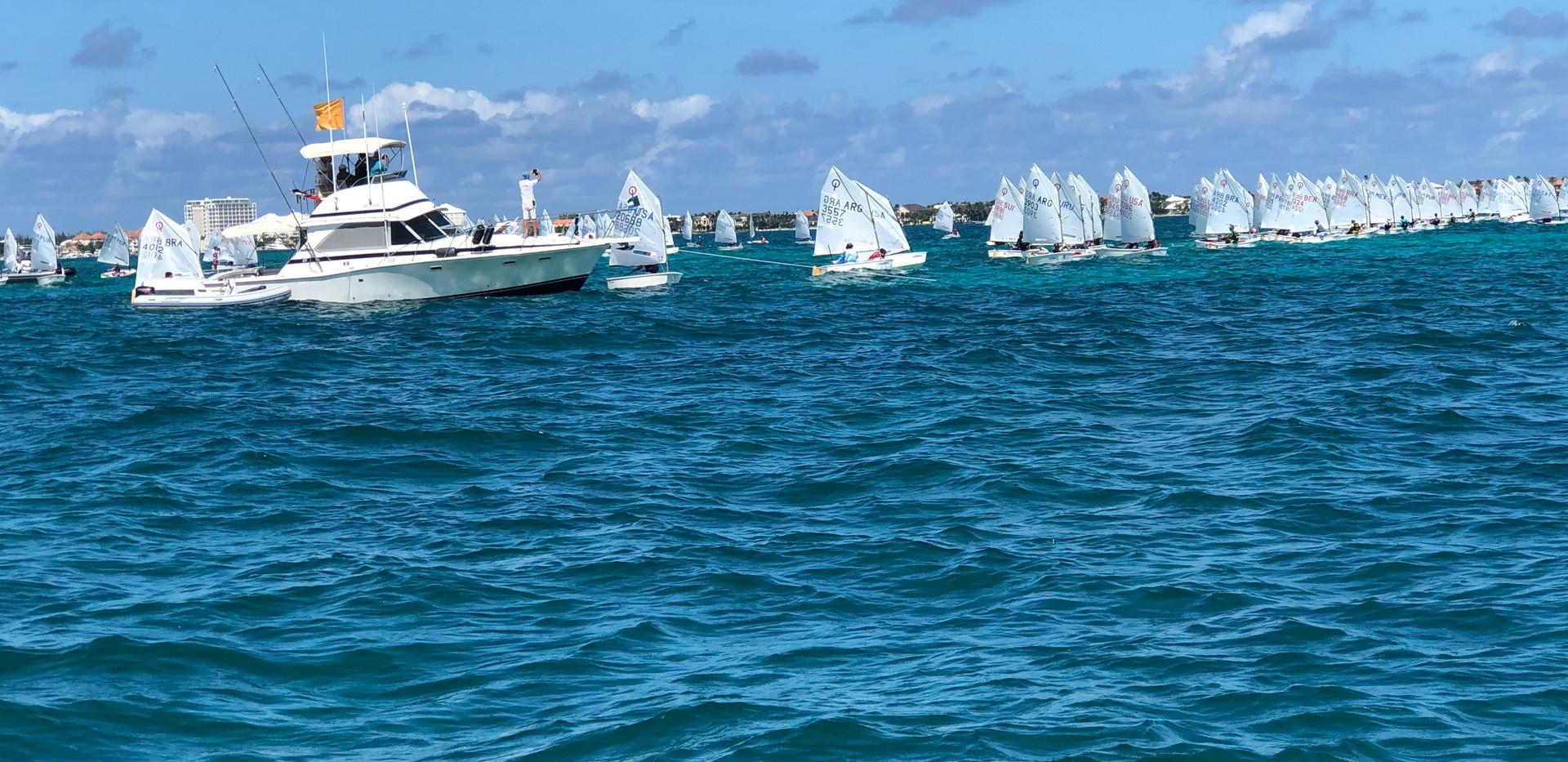 Bahamas National Sailing School - Optimi