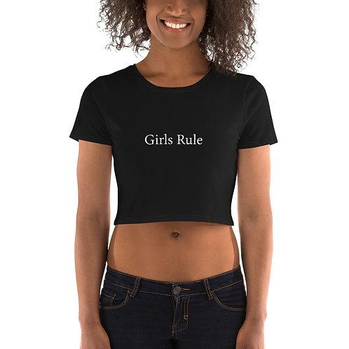 Women's Crop Tee - Girls Rule