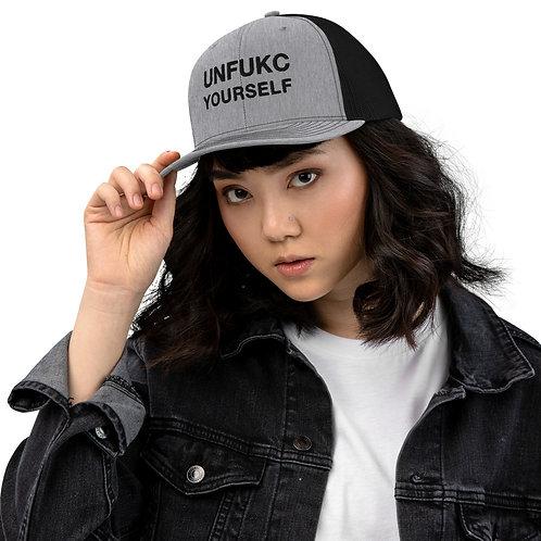 Unisex Trucker Cap - Unfukc Yourself