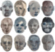 _All those familiar faces_2020 watercolo
