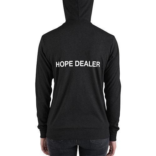 Unisex zip hoodie - Hope Dealer