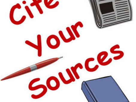 Students:  Trouble Citing your Sources?
