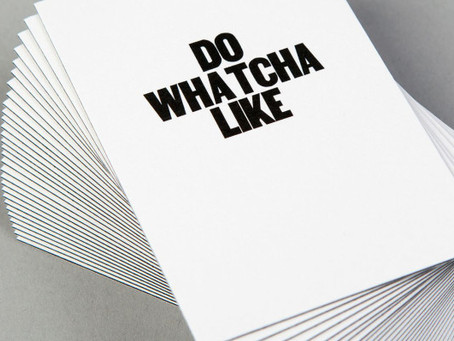 Marcy's Monday Minute: Do Wutcha Like!!