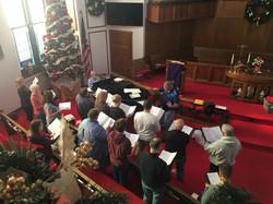 Christmas Choir Rehearsal