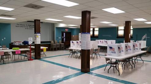 fellowship hall as a polling place.jpg