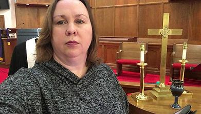Pastor Tish on Virtual Career Day at Festus Intermediate School