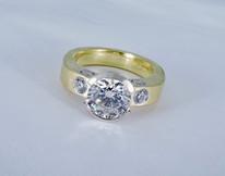 Diamond 'Evolution' Ring
