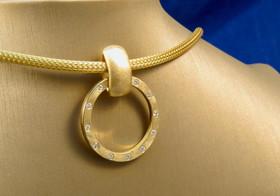 Diamond 'Cycle Clasp'