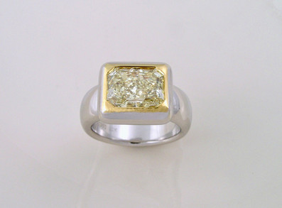 Yellow Diamond 'Desire' Ring