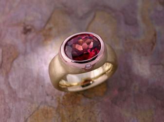 Embellished 'Pebble' Ring