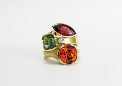 Autumn Colors Ring Stack