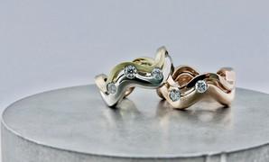 'Wave Dreamer' with Diamonds