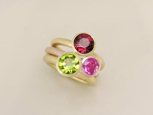 'Florette' Rings
