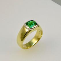 Tourmaline 'Pyramid' Ring