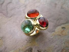 Autumn 'Tiptych' Ring