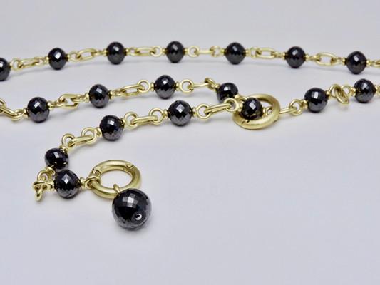 'Black Diamond' Necklace