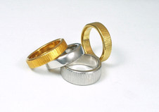 Wedding Bands: 'Geo' Ring & 'One' Ring